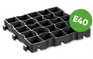 модуль газонной решетки Ecoraster E40