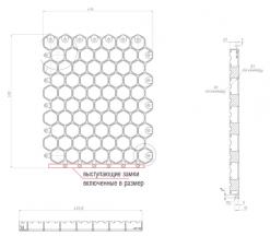 как замки влияют на площадь газонной решетки