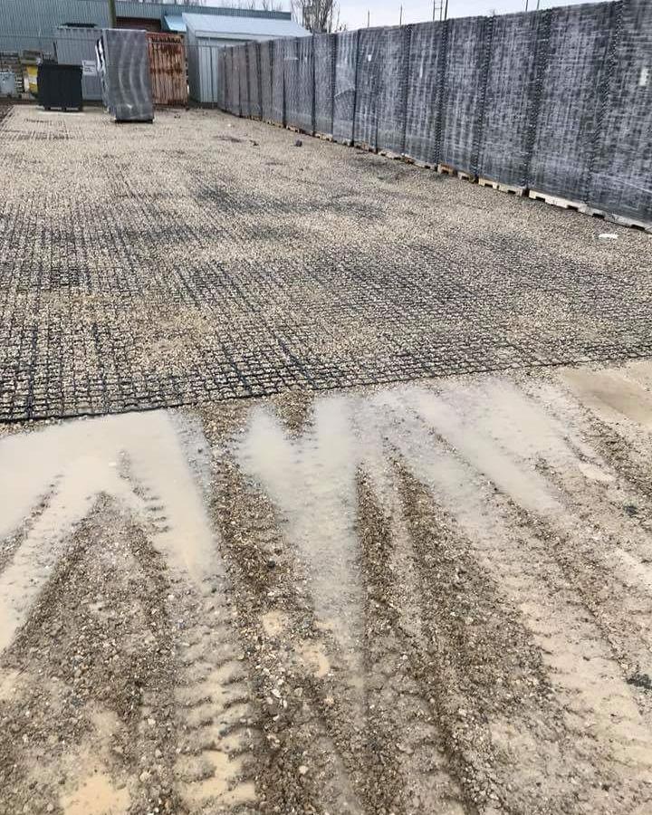 как работает газонная решетка