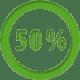 иконка 50%